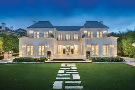French Inspired Home Designs Palatial Luxury Mansion In Melbourne With Classical French