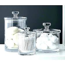 bathroom jars storage om home design next mason glass containers with lids bathroom jars