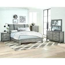 rustic king bedroom set rustic casual gray 6 piece king bedroom set nelson wood rustic cal