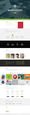 one page website template psd omega gugggly one page psd template omega features
