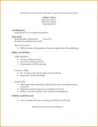 High School Student Resume Examples Interesting High School Resume Examples Mkma