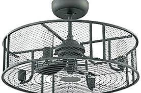 enclosed ceiling fan. Wonderful Glamorous Collection Cage Enclosed Ceiling Fans : Fan A