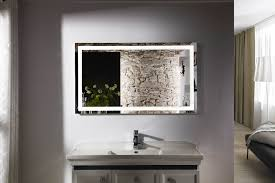 Industrial Bathroom Mirrors Home Decor Large Bathroom Mirrors With Lights Industrial Looking