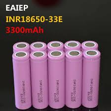 <b>EAIEP</b> INR18650 33E 3.7V 3300mAh rechargeable lithium ion ...