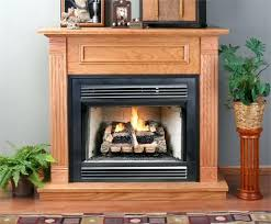 gas fireplace unvented gas fireplace logs ventless home depot