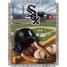 northwest mlb chicago white sox home field advantage tapestry throw