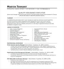 Quality Manager Resume From Stunning Quality Assurance Integration
