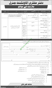 military accountant general office 2016 jobs application military accountant general office 2016 jobs application form