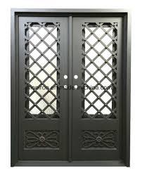 high quality factory iron front door cast iron door