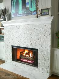 home tour continues white fireplacefireplace tilesgas fireplace insertsstacked stone