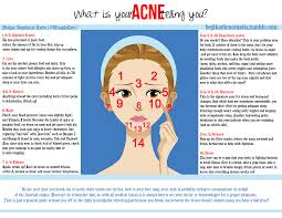 acne face mapping  does it work  honesty for your skin