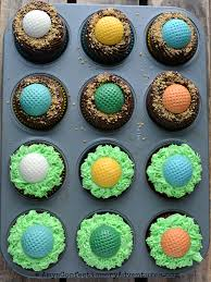 Amys Confectionery Adventures Golf Ball Cupcakes
