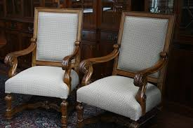 grand provenance upholstered dining room chairs