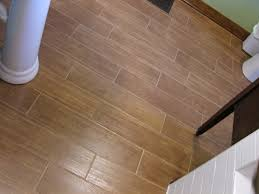 how linoleum that looks like wood can give the impression of real bathroom kitchen vintage