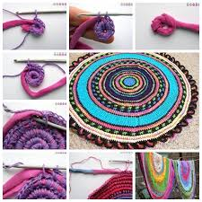 view in gallery crochet rug f wonderful diy crochet rug from old t shirt