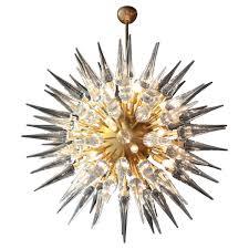 exceptional huge atomic or sputnik chandelier style of stilnovo for at 1stdibs
