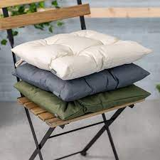 quilted garden chair pad