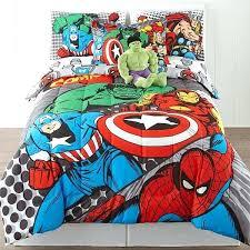 marvel queen bedding superhero