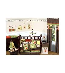 forest crib bedding