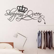 Wandtattoo Spruch Shopping Queen