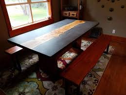 concrete and wood furniture. Concrete And Wood Furniture. Picture Of Slab Table Furniture