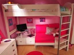 bunk bed with couch and desk you