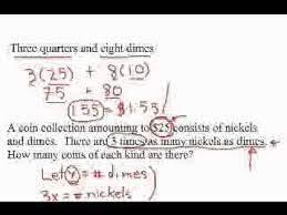 Ellipse hyperbola parabola cheat sheet. Grade 9 Word Problems Coins Part 1 Flv Youtube