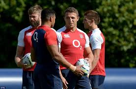 sam burgess second right has been picked ahead of luther burrell second left