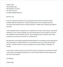 Termination Letter Template Sample Termination Letter Document Preview Template Of