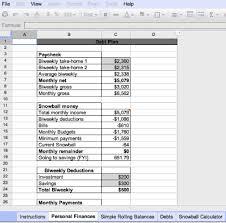 Updated: Dangerp's Sweet Excel Budget Spreadsheet (With Debt ...