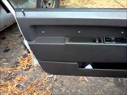 removing a door panel from a volvo 940
