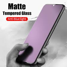 Anti Blue Frosted <b>Tempered</b> Glass UV <b>Matte Screen Protector</b> for ...