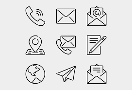 Email Icons Transparent White - Phone Email Address Icon Png, Cliparts &  Cartoons - Jing.fm