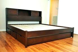 Astonishing Bed King Frames Ikea Frame Canada With Headboard Storage ...