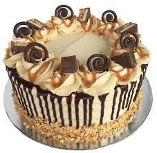 Caramel Peanut Snickers Cake Kidds Cakes Bakery