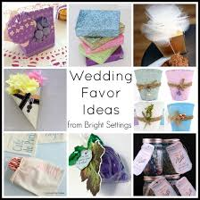 DIY wedding favor ideas -- get tons of ideas to make your own wedding favors