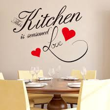 Wall Art For Kitchen Compare Prices On Vinyl Wall Art For Kitchen Online Shopping Buy