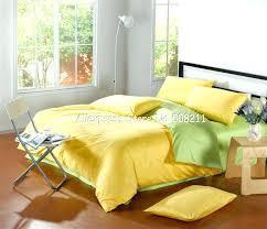 full image for solid light green duvet cover solid green duvet cover queen yellow bedding sets