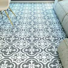 Patterned Vinyl Tiles New Patterned Vinyl Flooring Floor Tiles Australia Vintage Uk Grey