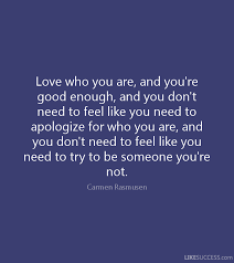 Not Good Enough Quotes 75 Awesome Six Quotes For When You're Feeling Like You're Not Good Enough