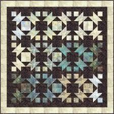 Hoffman Fabrics : Free Quilt Patterns   Wall Quilts   Pinterest ... & Northern Lights Quilt Pattern MC-010 (advanced beginner, wall hanging) Adamdwight.com