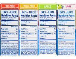 sun roarin water beverage fruit punch flavored 0 juice 10 pk