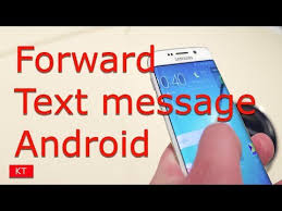 How To Forward A Text Message On Android Youtube