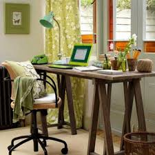 vintage office decorating ideas.  vintage wood office desk with vintage office decorating ideas