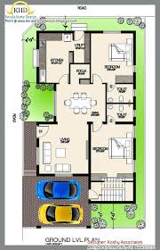 house plan sq yards new single floor and elevation ft kerala home design plans