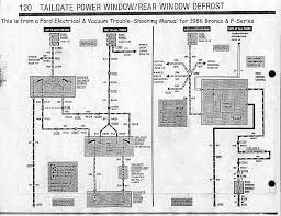 re wire your tailgate window switch finished ford bronco forum also the off road schematic and rfr s article w schematic hope this helps off road com ford bigbron ire index html