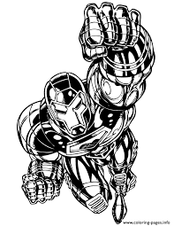 Small Picture Iron Man Comic Book Coloring Pages Printable