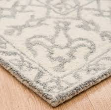 bronte smoke pure wool rug free uk delivery