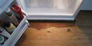 why does my refrigerator leak water