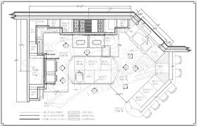 Small Commercial Kitchen Layout Innovative Kitchen Plans With Measurements Floor Plan Dimensions